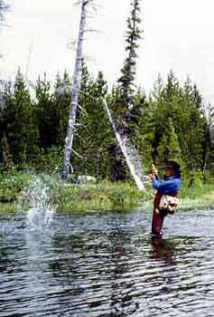 Fishing off broken bow lake beavers bend secluded acres for Broken bow lake fishing
